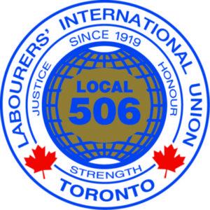 Local 506 Labourer's International Union Toronto